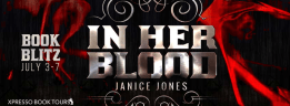 In Her Blood - Blitz Banner
